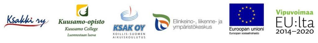 Taida-hanke osallistujien logot