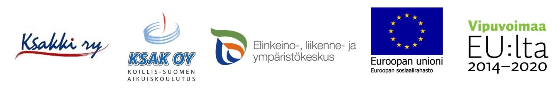 etsemppi-hankkeen osallistujien logot