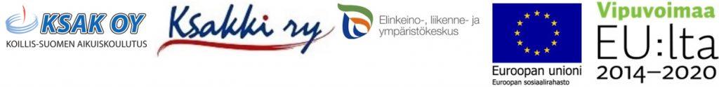 tuottavuuden ja työhyvinvoinnnin kehittäminen koillismaalla -hankkeen osallistujien logot